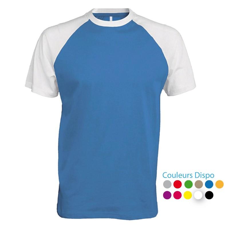 T-shirt de Travail bicolore