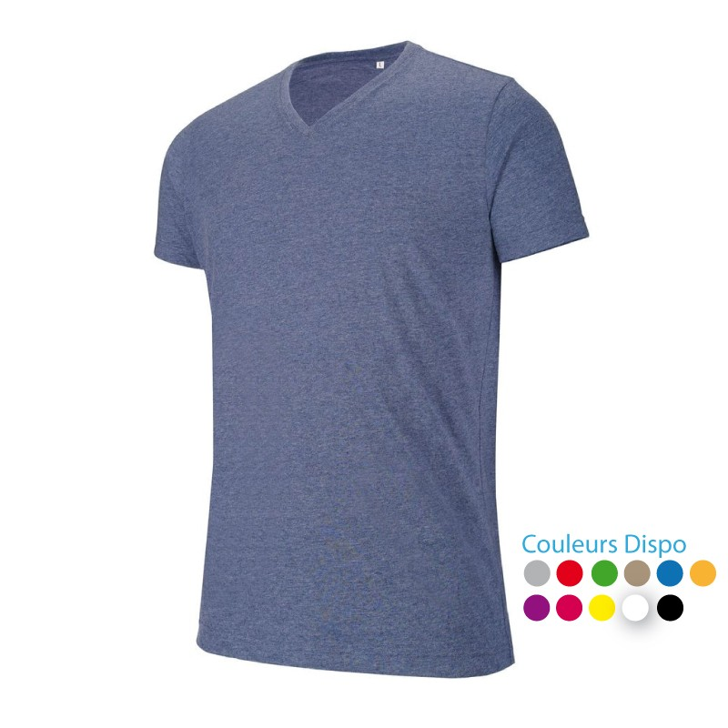 T-shirt de Travail col V