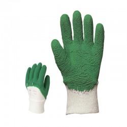 Gant crêpé vert