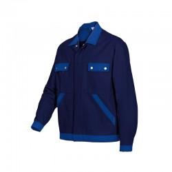 Blouson de Travail Bicolore Bleu Marine
