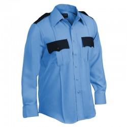 chemise agent de sécurité bicolore