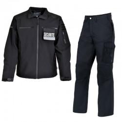 Blouson et pantalon agent de Sécurité