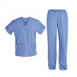 Pyjama pour infirmier(e) bleu