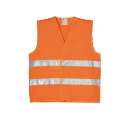 Gilet haute visibilité orange
