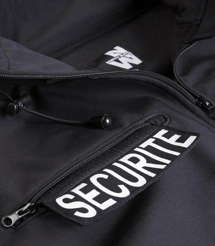 Vêtements pour agents de sécurité avec logo